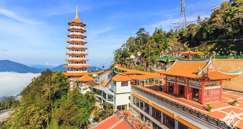 الأماكن السياحية مرتفعات جنتنج 12